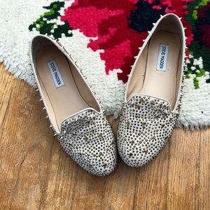 Steve Madden Spikes and Studded Flats